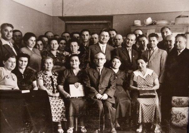Коллектив кт Художественный. 1962 год.
