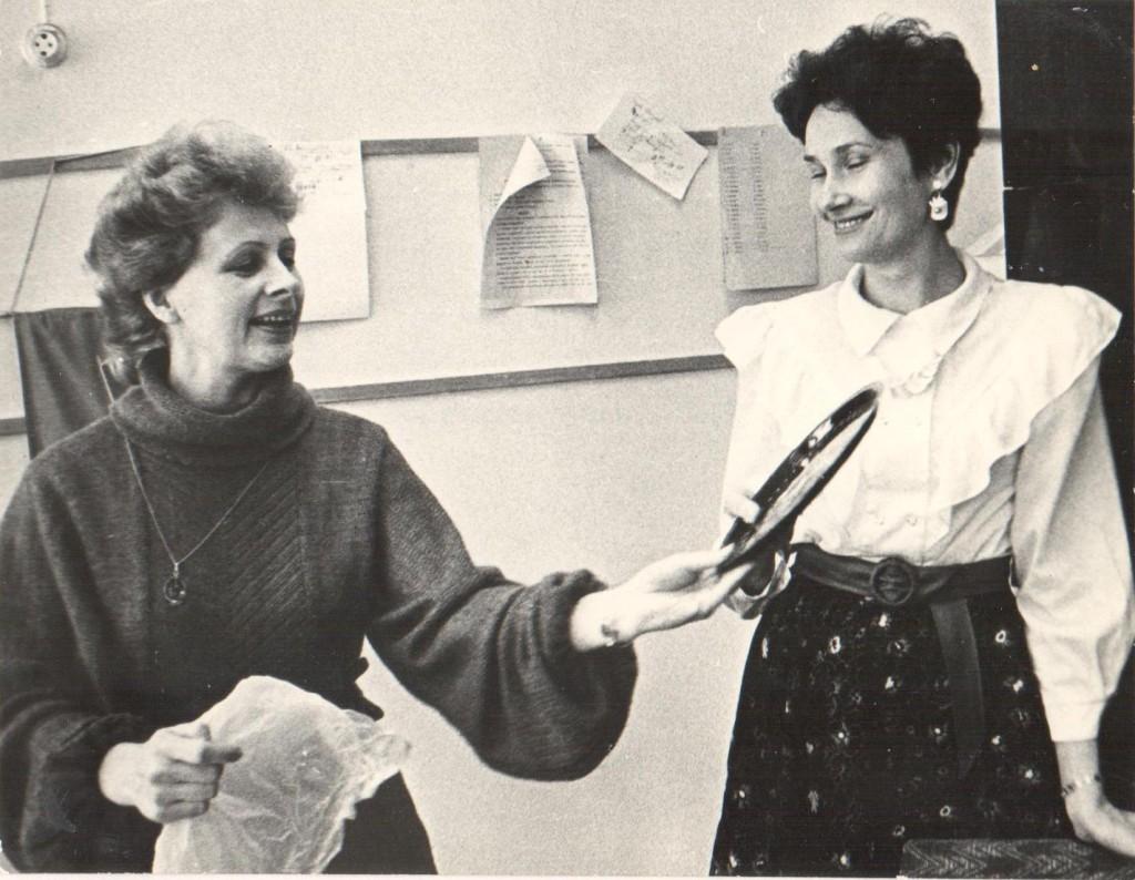 Ирина Труханова, Лариса Матросова, 1988 год