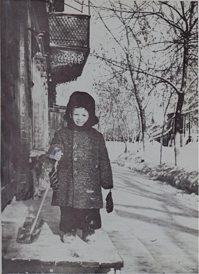 Садовая улица, зима, конец 1950-х годов.