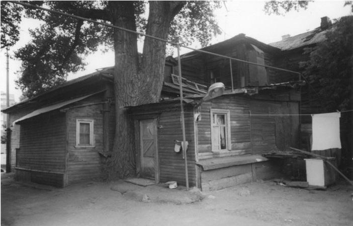Бывший флигель прислуги или домик Попова, конец 1990-х годов.