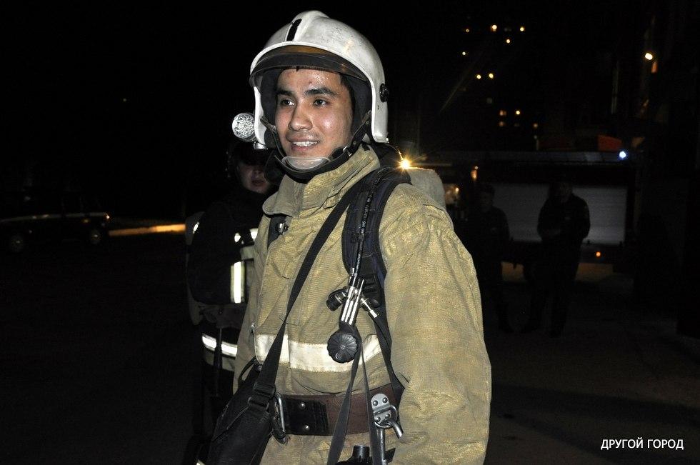 Пожарный Данияр Таргинов
