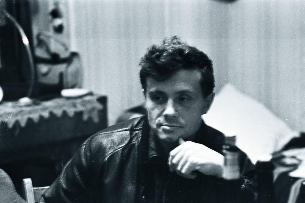 Всеволод Некрасов. 60-е. Фото из архивов Галины Зыковой и Елены Пенской.