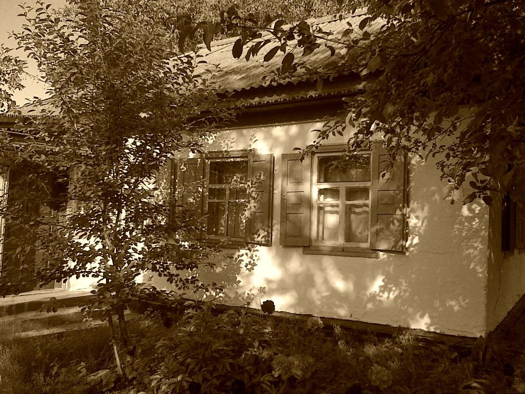 Типичный дачный домик