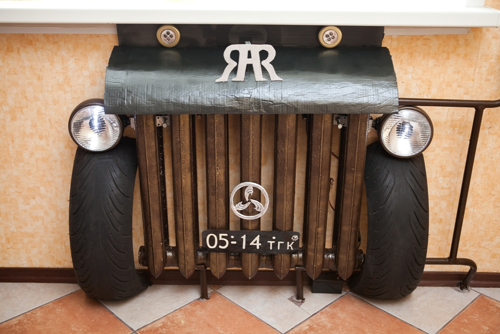 «Retro Auto Radiator» от Марии Киселевой