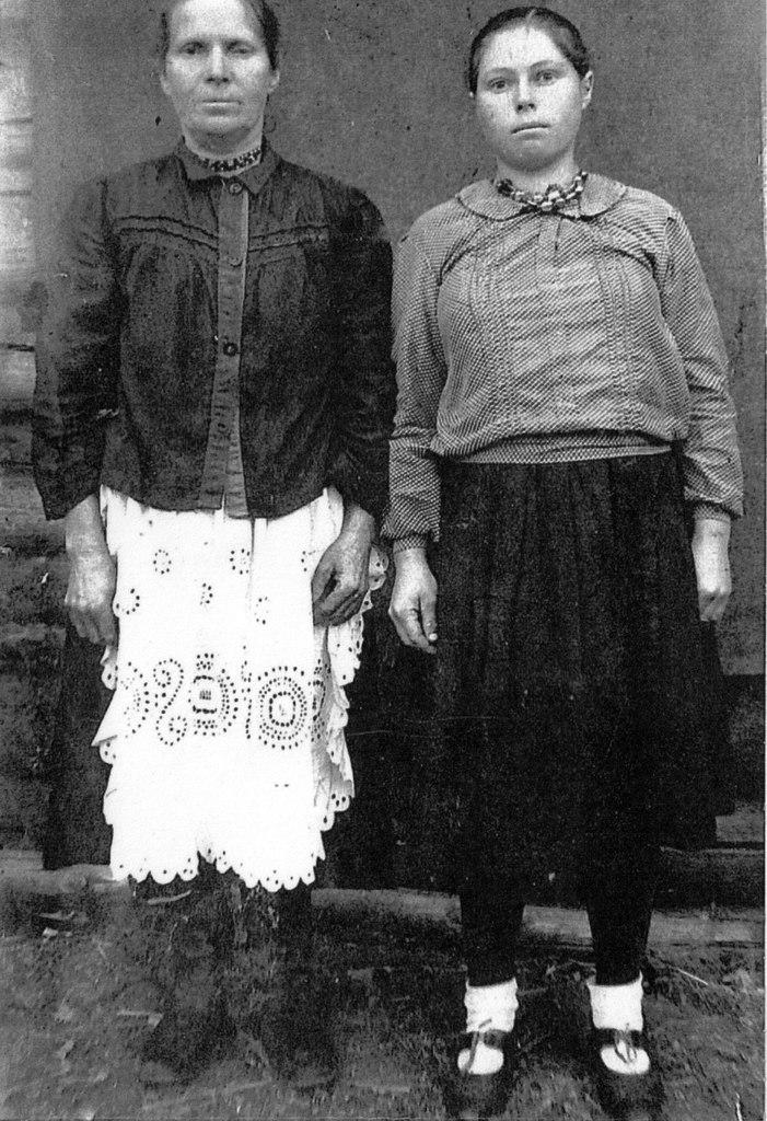 Пелагея с мамой