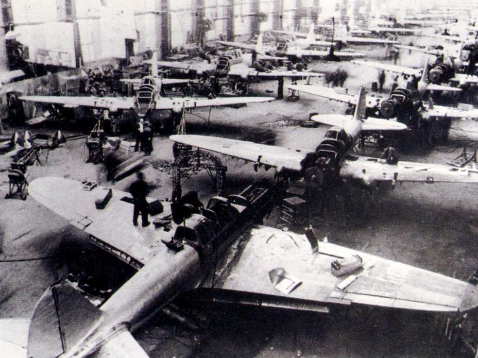 Серийное производство Ил-2 на авиазаводе