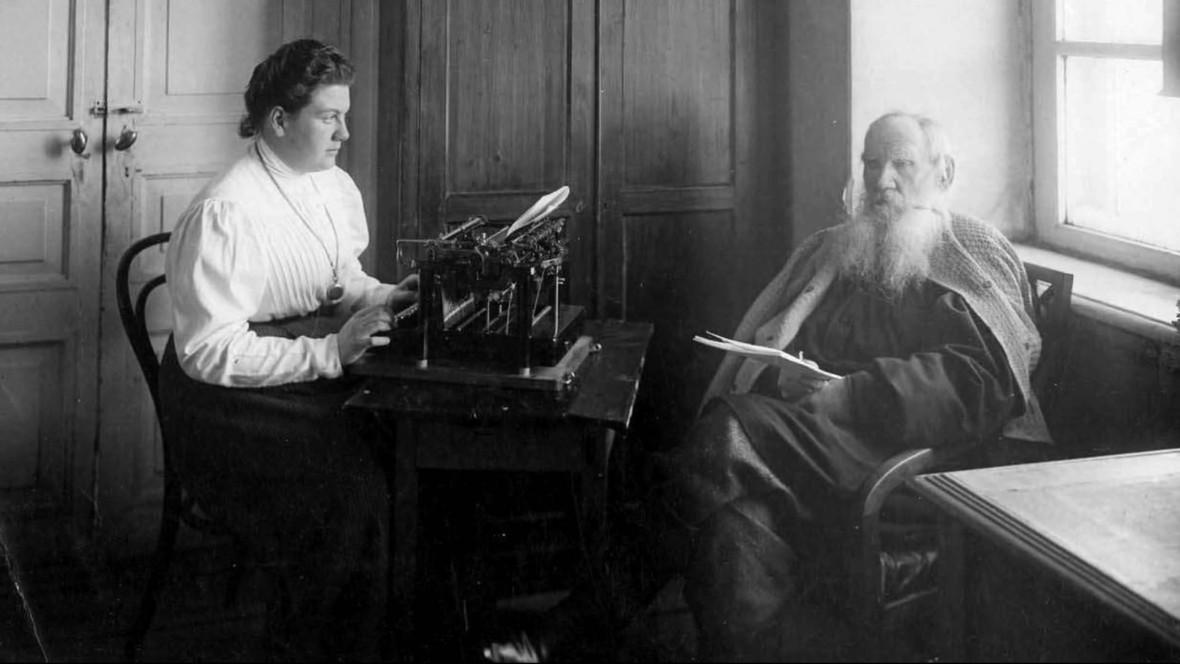 Лев Толстой в 1908 году