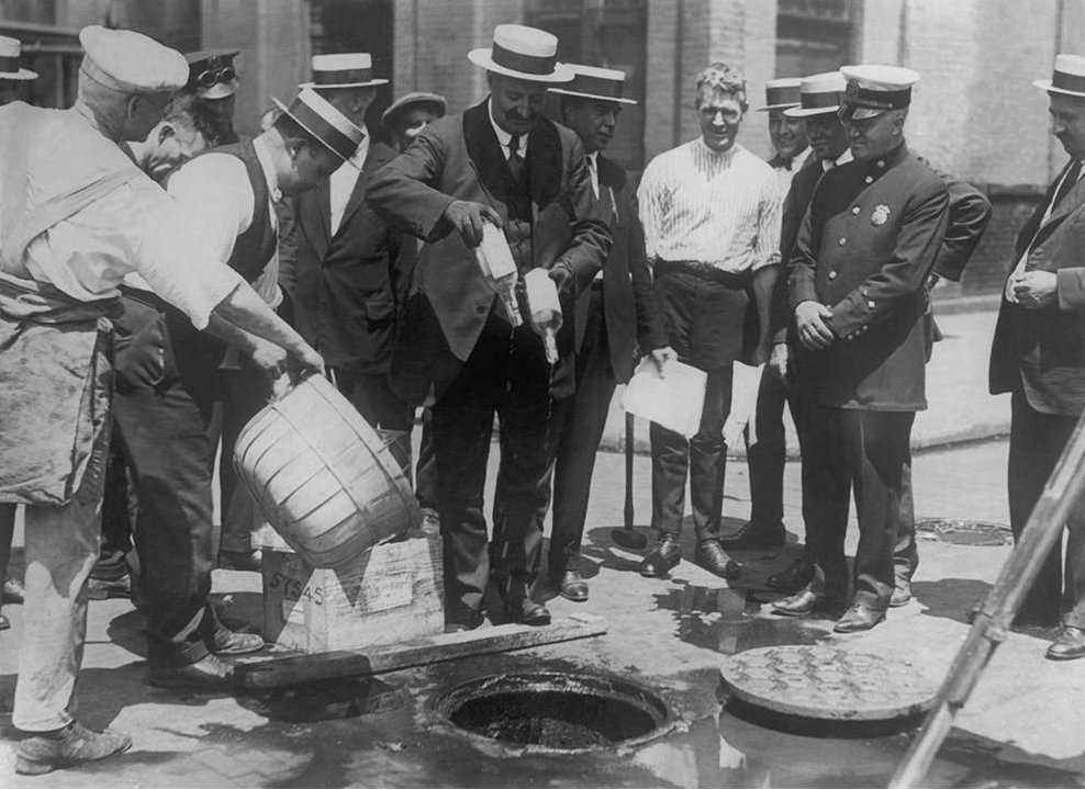a great controversy surrounded the prohibition of alcohol in the united states In 1919, the united states passed a prohibition law it remained in effect from 1920 to 1933 prohibition began with the hope that by eliminating alcohol, we would eliminate the problem of alcoholism.