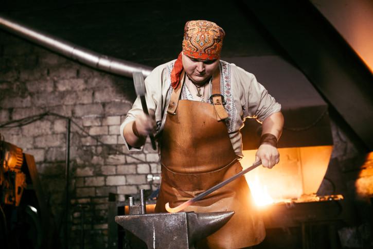 Как сделать костюм кузнеца - VE-graphics.ru
