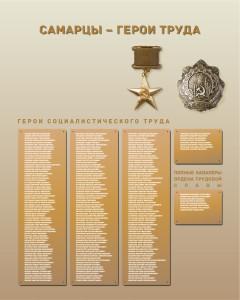 Ниша № 9 Герои Социалистического труда