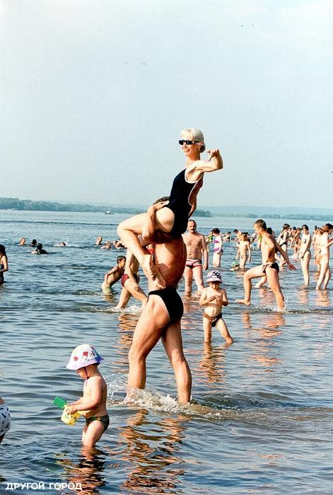 Самара пляж кинап самая сексуальная девушка пляжа