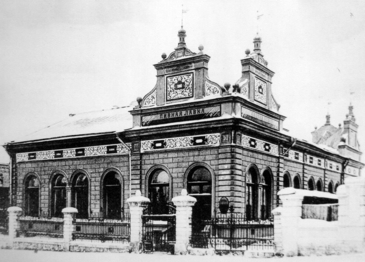 01 Здание пивного бара фон Вокано, 1903 г-001