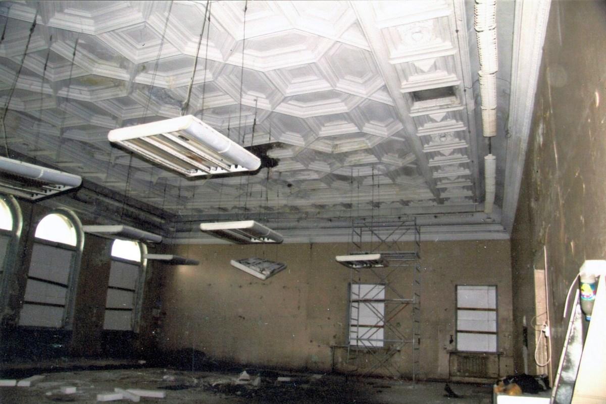 03 Гипсовый потолок в помещении №2