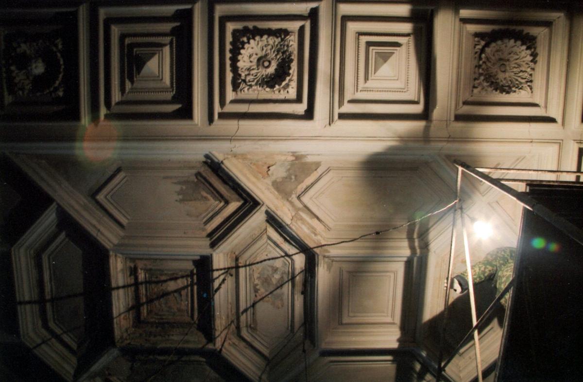 04 Демонтаж поточных панелей из гипса в 2007 г, НРПП Старый город