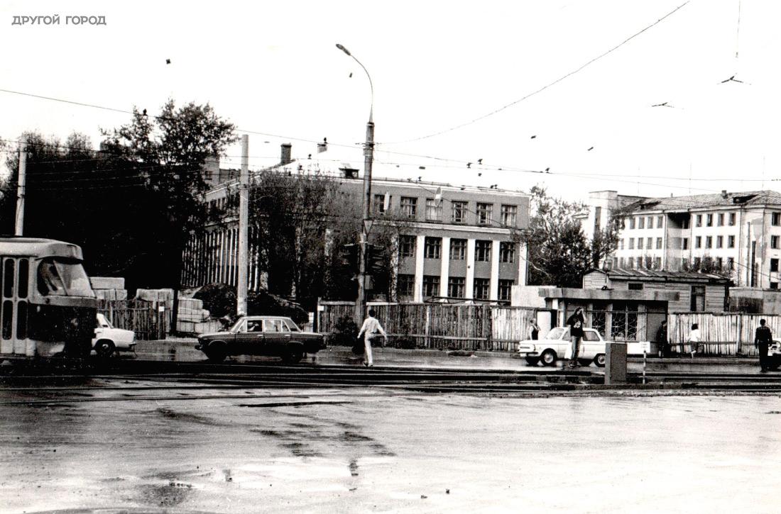 Пыстырь, нам месте дома №2Б по проспекту Ленина