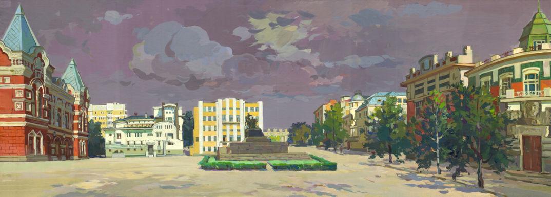 Панорама с картины