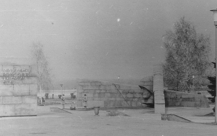 Площадь Славы. Декабрь 1978 года