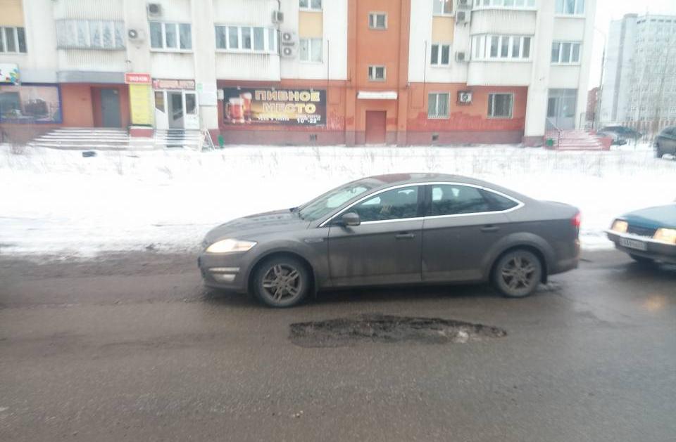 На ул. Советской Армии