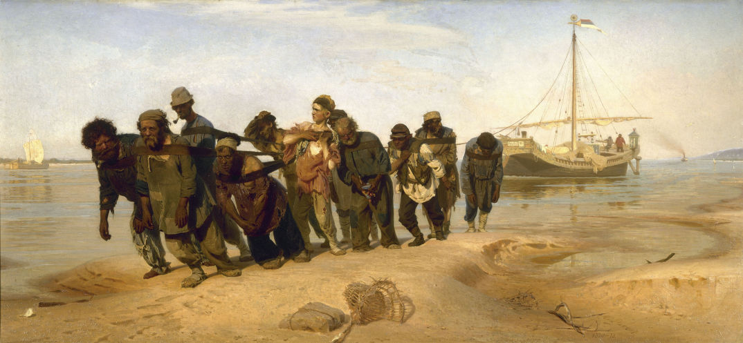 Barge-Haulers-on-the-Volga-by-Ilya-Repin