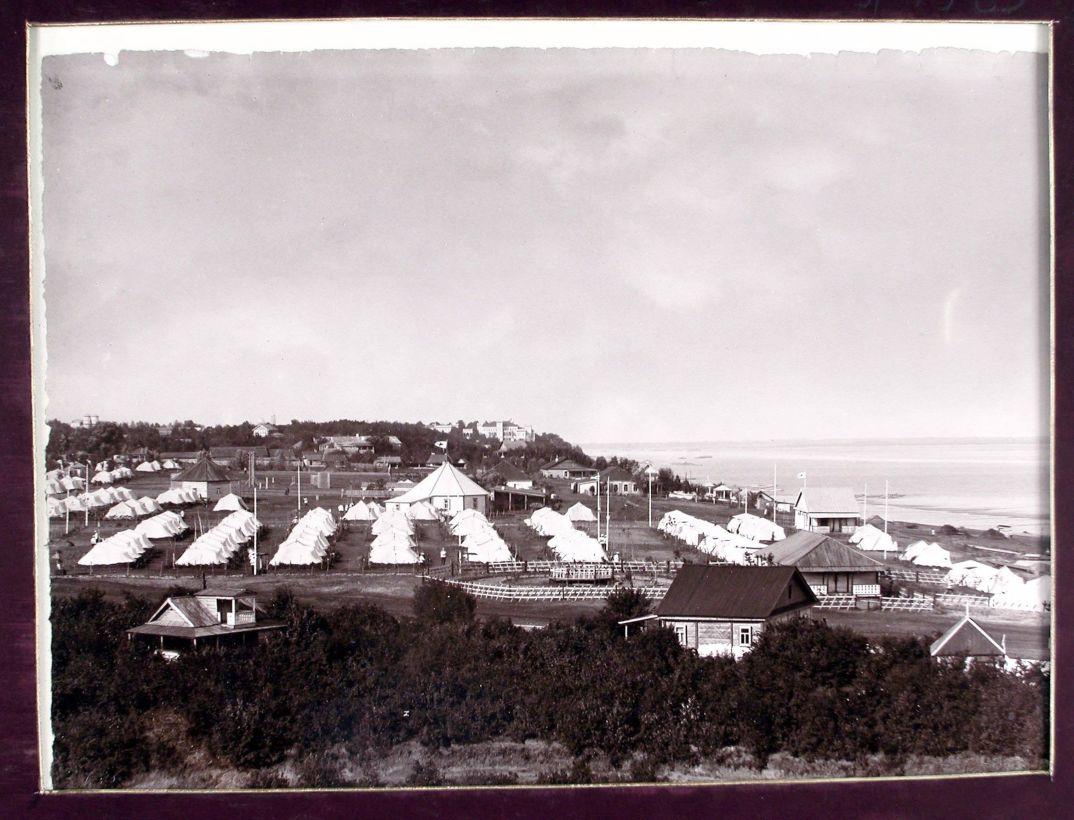16. Общий вид лагерной стоянки 159 Гурийского