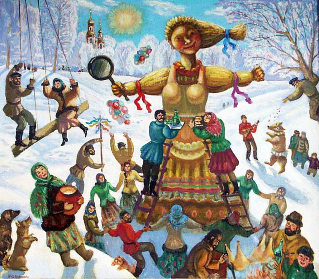 В. Б. Котляров «Масленица. Проводы зимы»