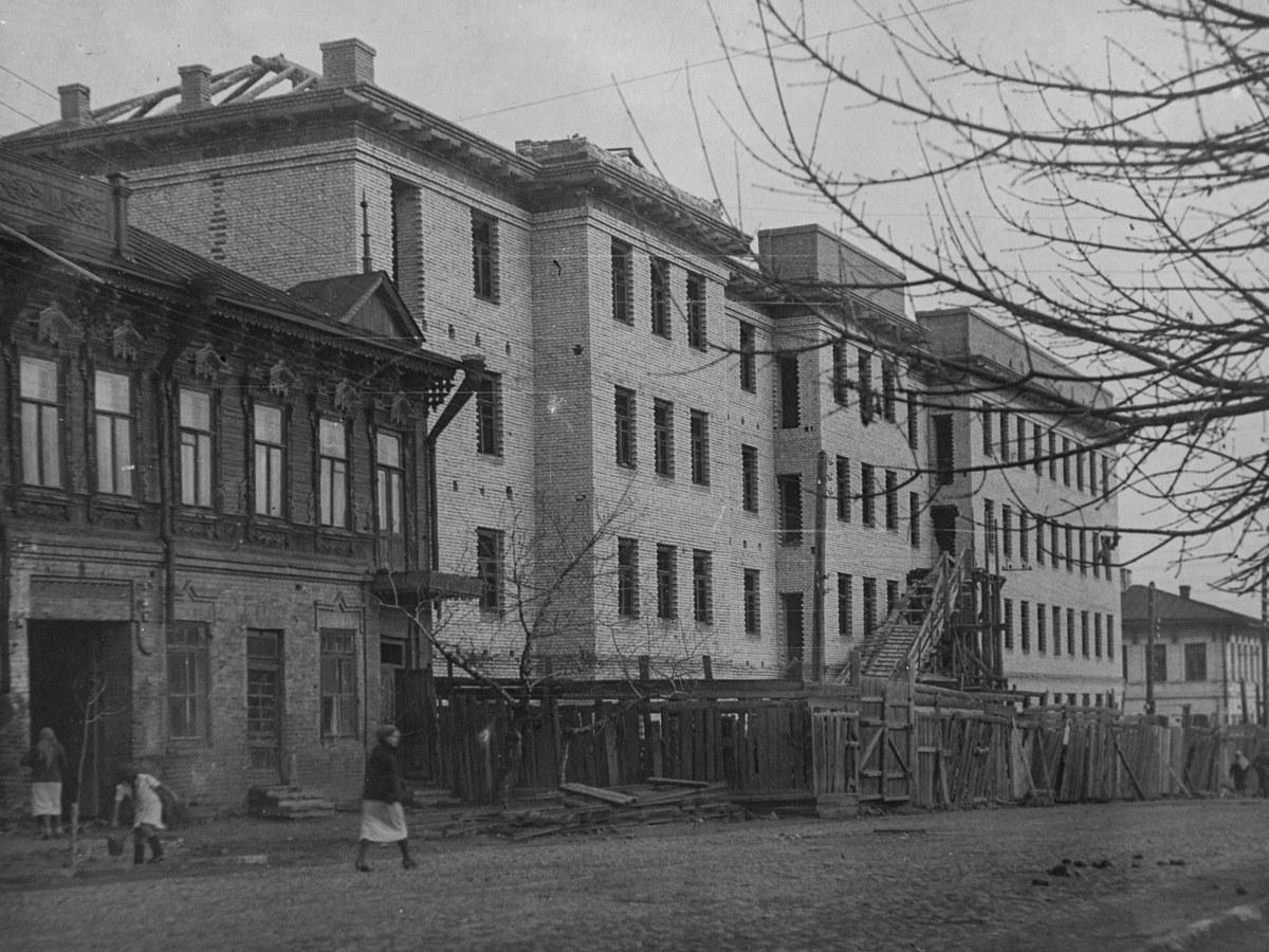 Дом профессуры строяка.1941