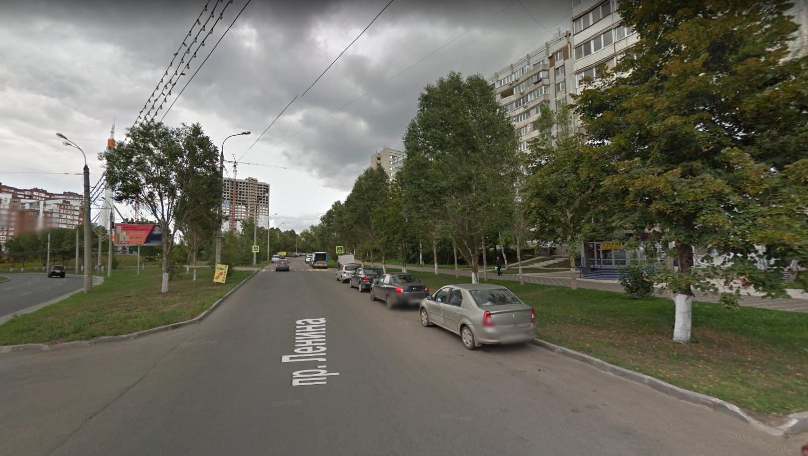 Съезд на Автобусный переулок