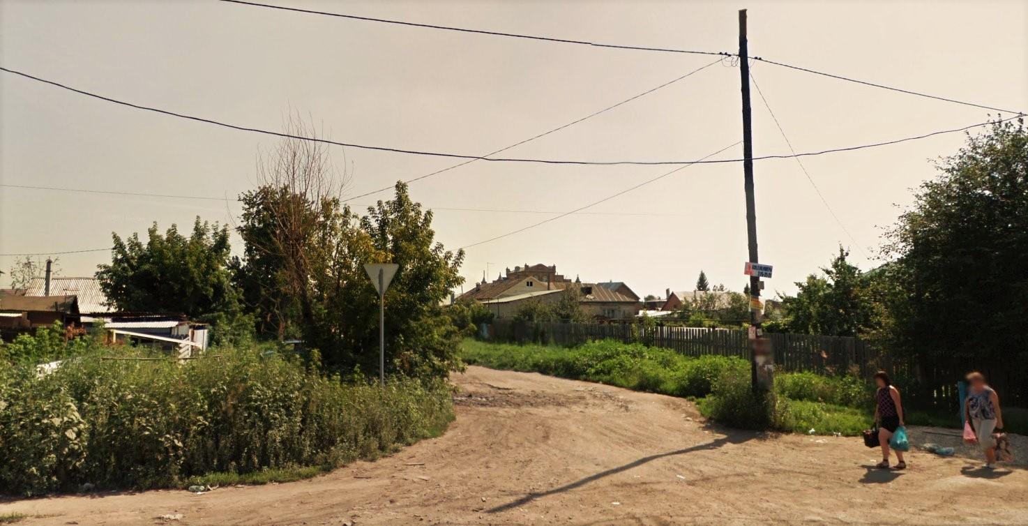 Пересечение улицы Арзамасской и Аэропортовского шоссе