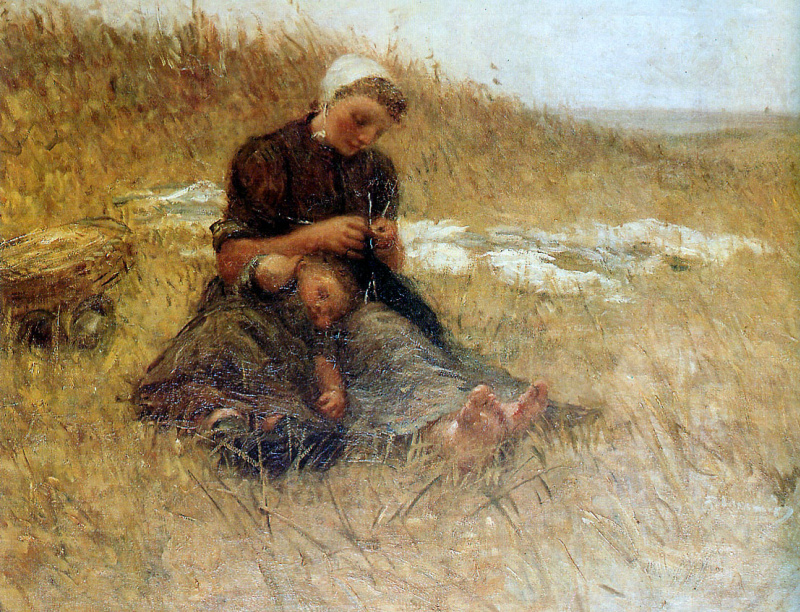 бернардус мать и дитя