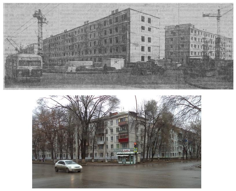 ФОТО 14-АМатросова-угол с Физк.-1959 и 2017