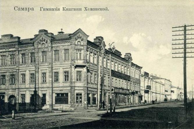 Гимназия Хованской