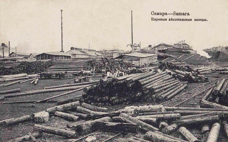 Паровой лесопильный завод