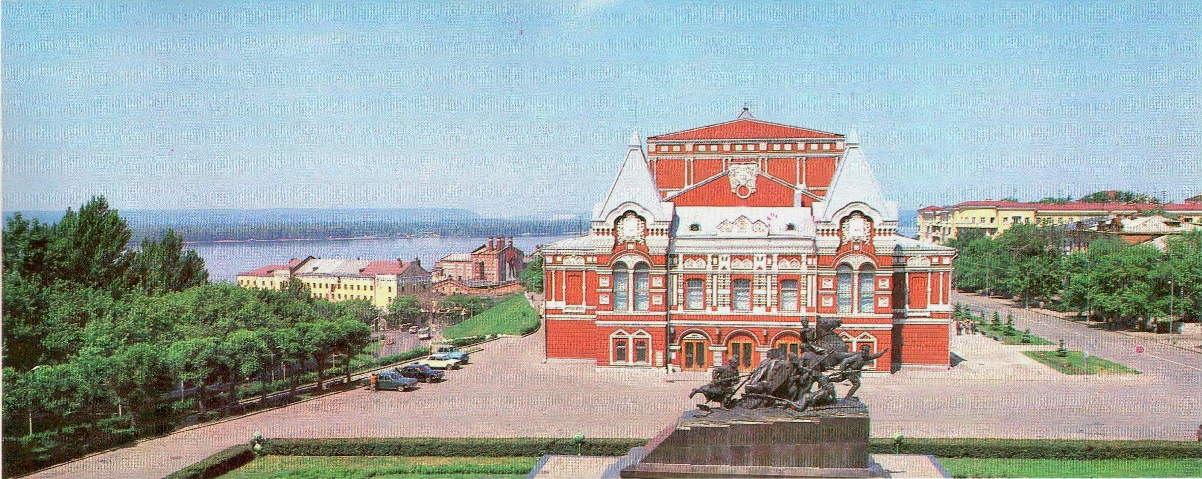 Вид на площадь Чапаева