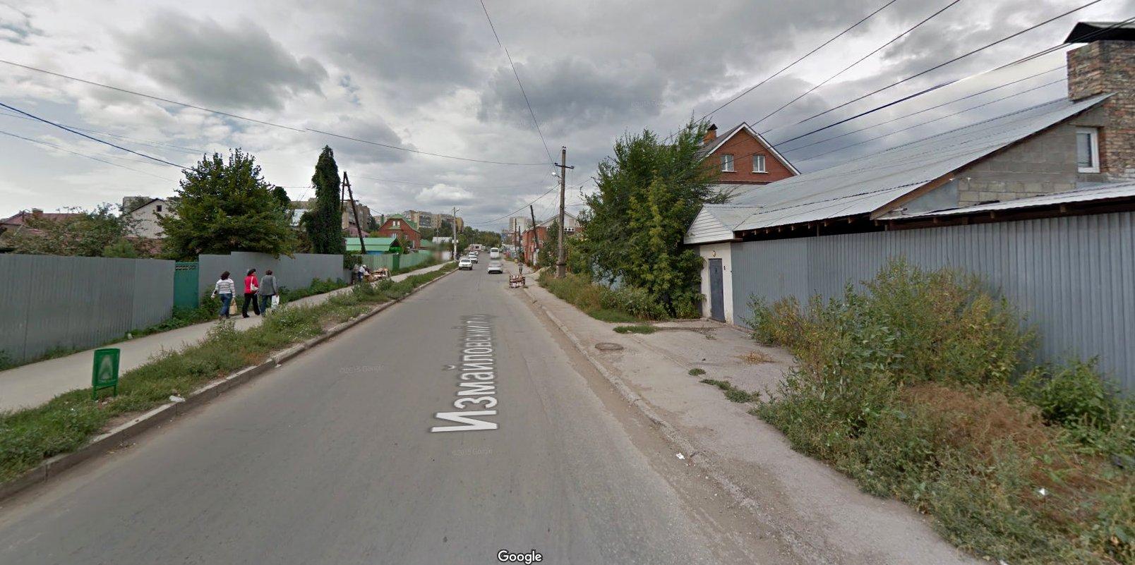 Измайловский переулок