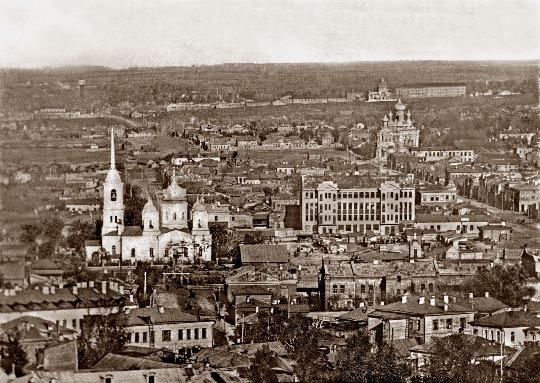 Самарская площадь. Вид с Кафедрального собора