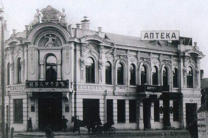 Винные склады купца Иванова