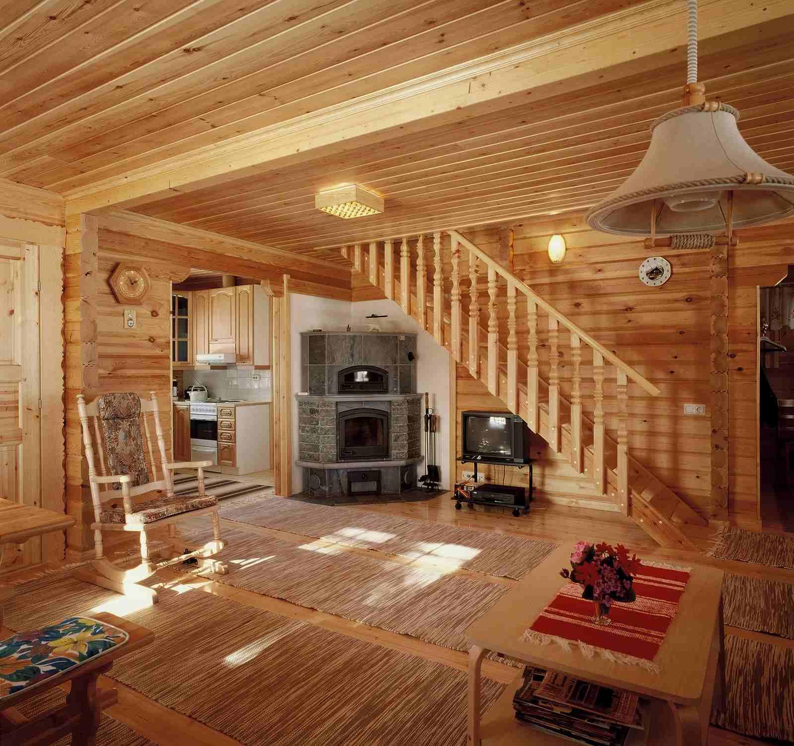 Проекты внутренней отделки дачных домов фото