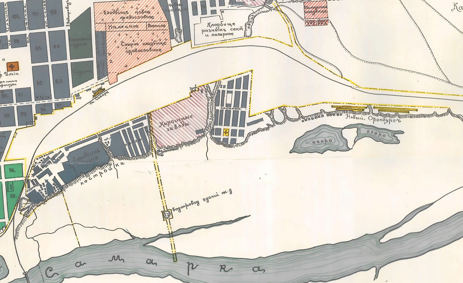 несколько блоков, карта старой самары картинки весьма милая, причесончик