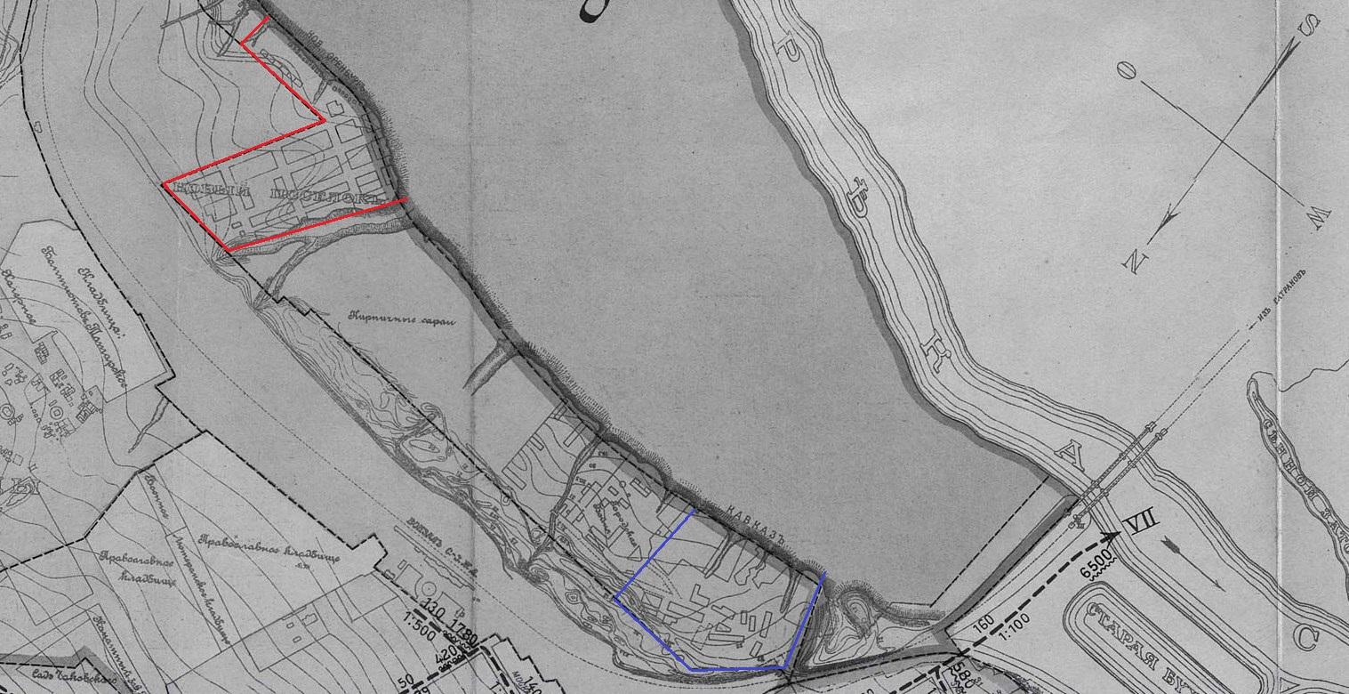 Карта 1907 года