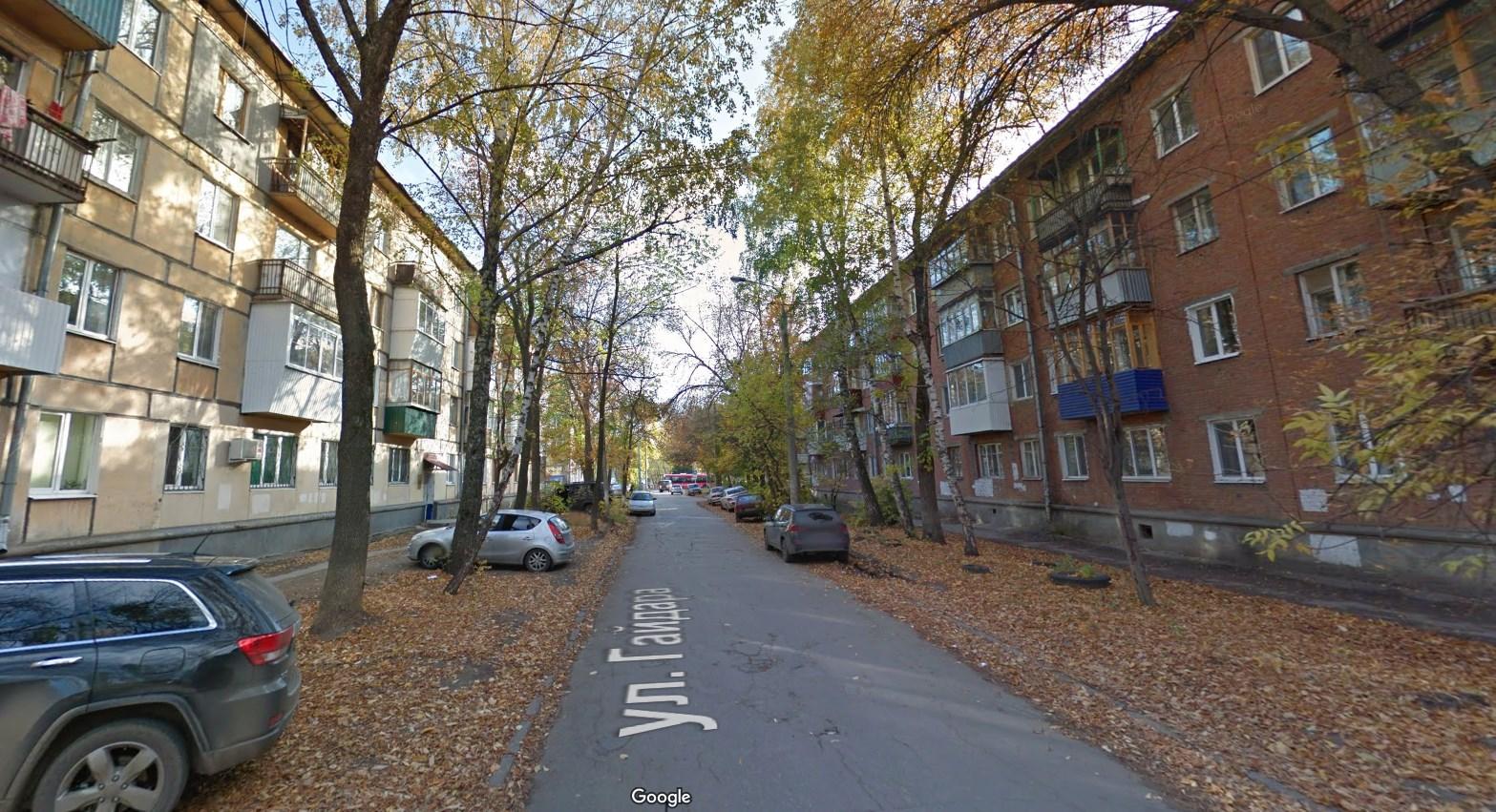 Улица Гайдара1