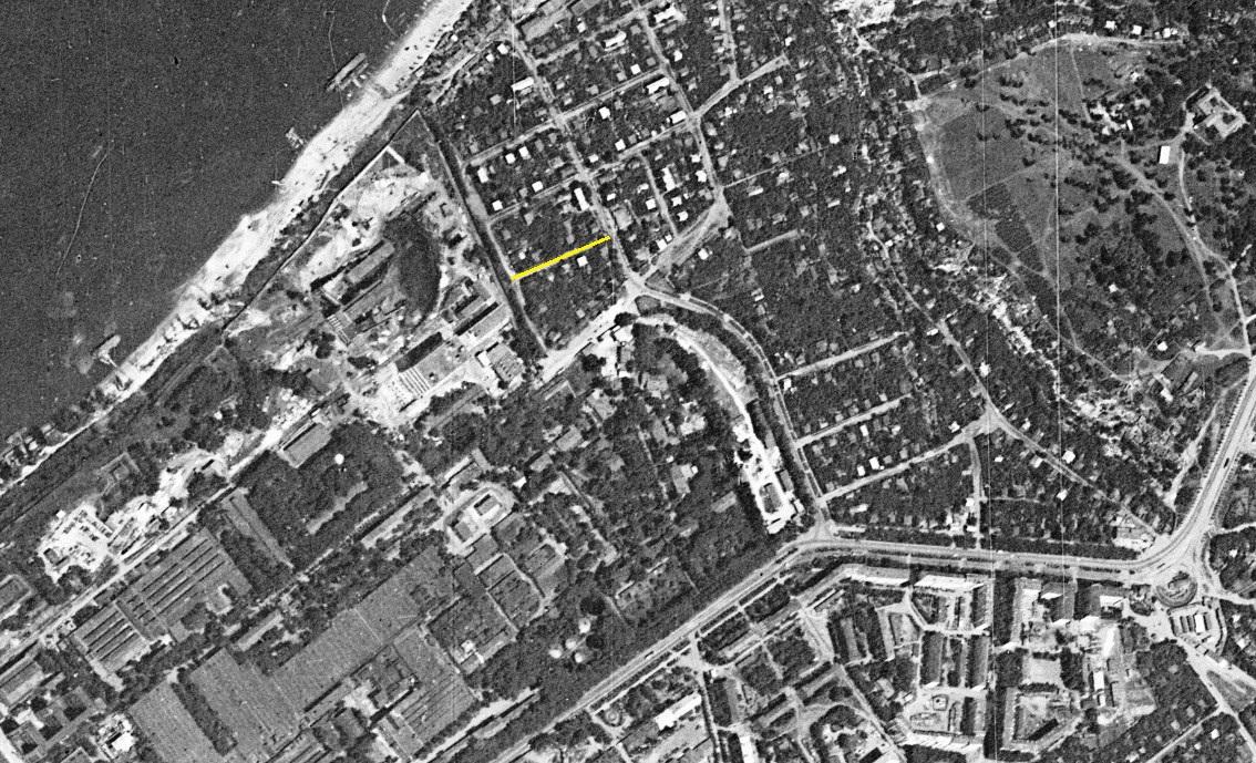 Переулок Глинки 1966 год