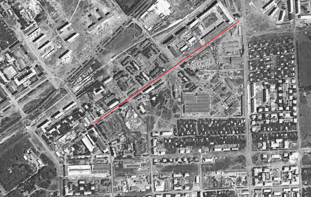 Улица Гаражная 1966