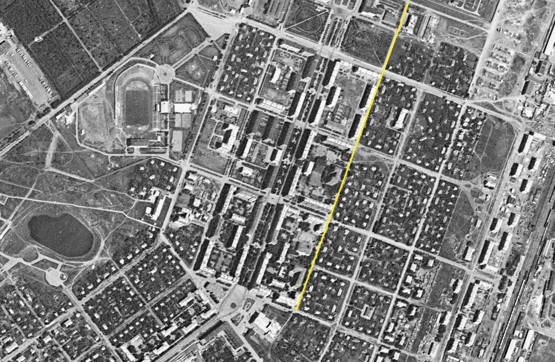 Улица Гвардейская1966