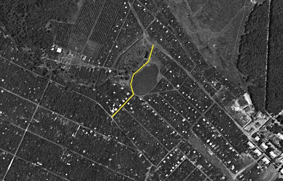 Переулок Грантиный 1966 год
