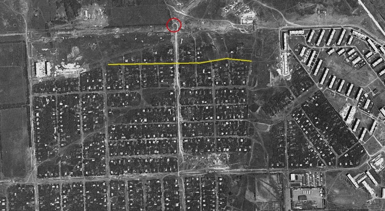 Долотный переулок 1967 год