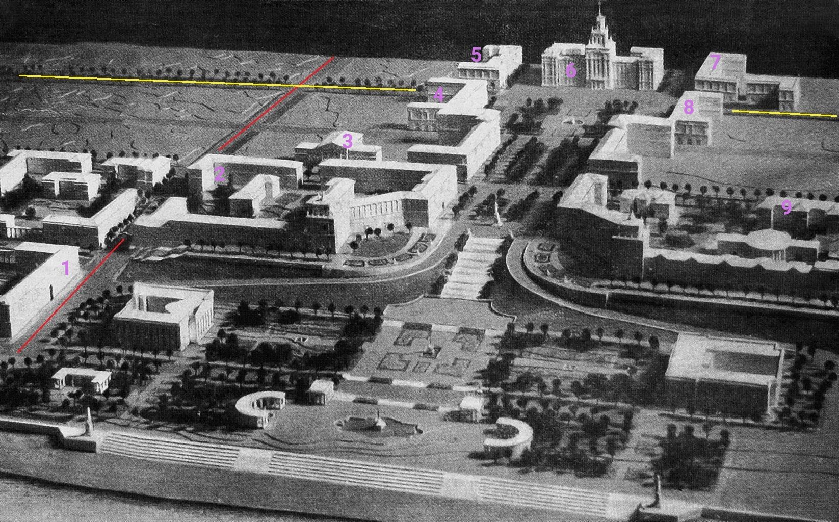 Проект застройки Самарской площади