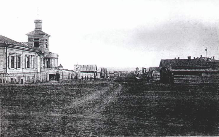 Улица Дачная 1930