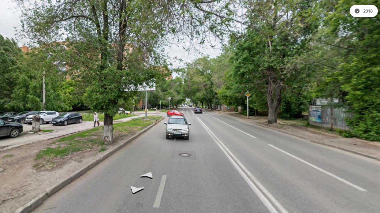 Вот так тихо выглядел до недавнего времени один из самых опасных перекрестков в Самаре