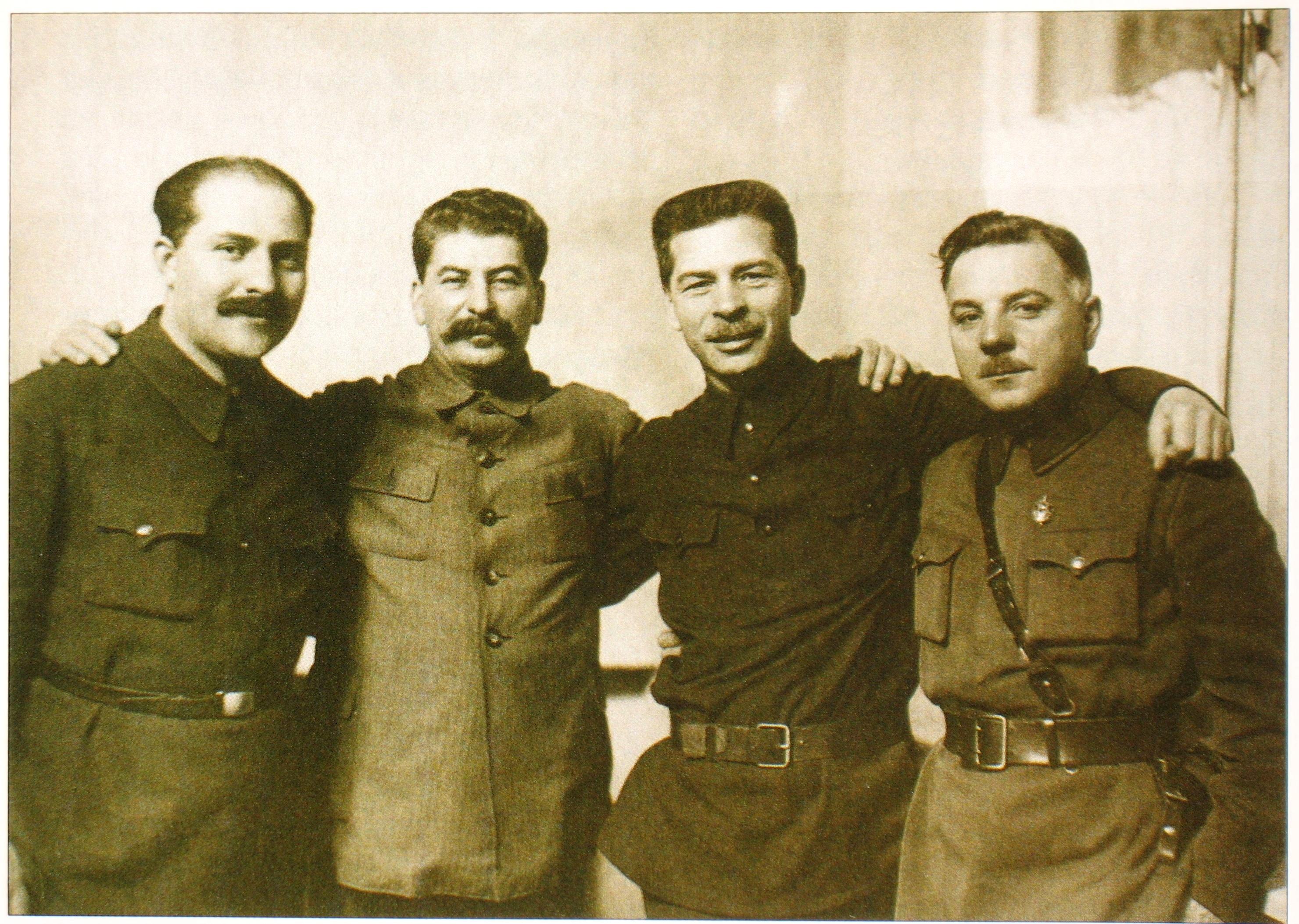 Постышев и Сталин