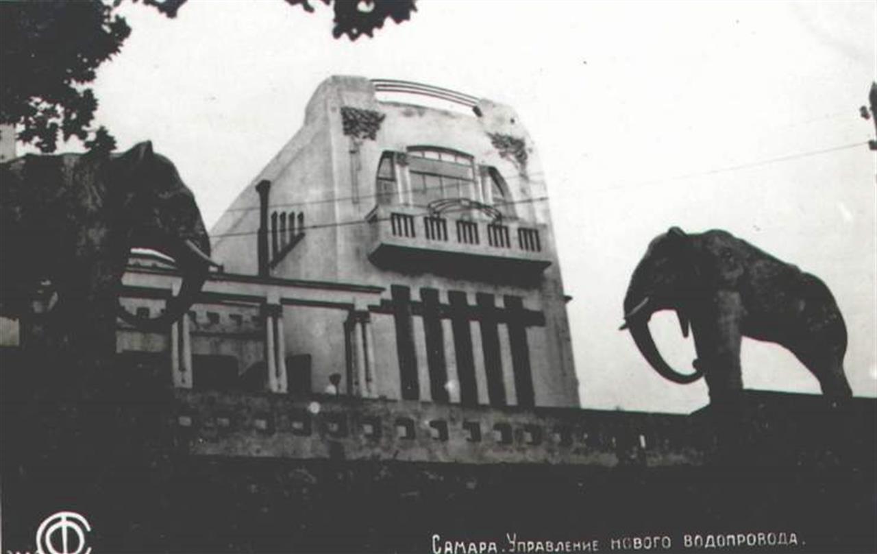 Дача со слонами Водоканал